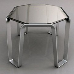 Modern Metal Chairs Lift Chair Recliner Costco Creative Furniture Decor Ideas View In Gallery Glass And Table