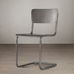 Modern Metal Chairs Hydraulic Barber Chair Creative Furniture Decor Ideas View In Gallery Schoolhouse