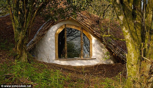 Diy Project Building Your Own Hobbit House With 163 3 000