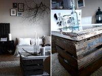 repurposed window as DIY coffee table - Decoist