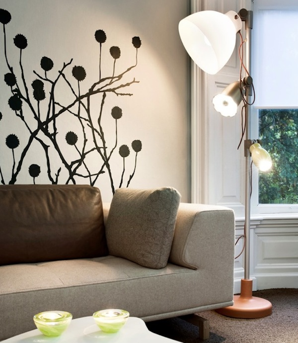 wall stickers living room plush furniture adding character to your interiors with decals view in gallery decal modern