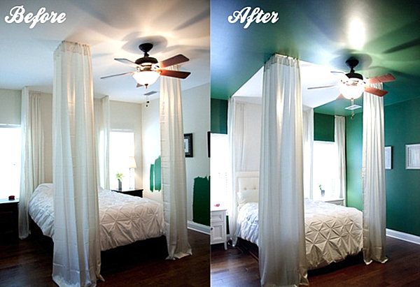 emerald green bedroom paint colors Eye-Catching Paint Colors for the Bedroom