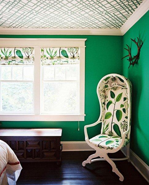 emerald green bedroom paint colors Emerald green bedroom walls - Decoist