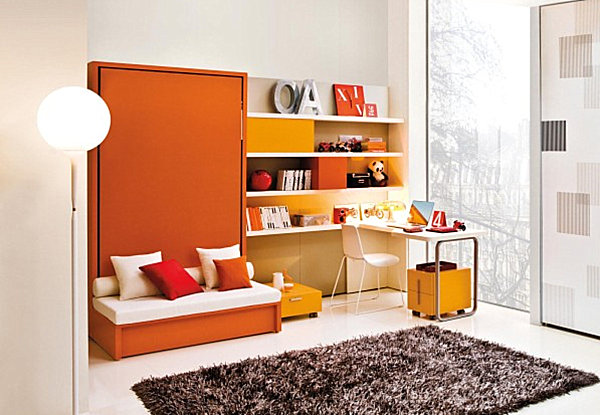 murphy bed in small living room plum ideas hideaway beds add function and style to your interior