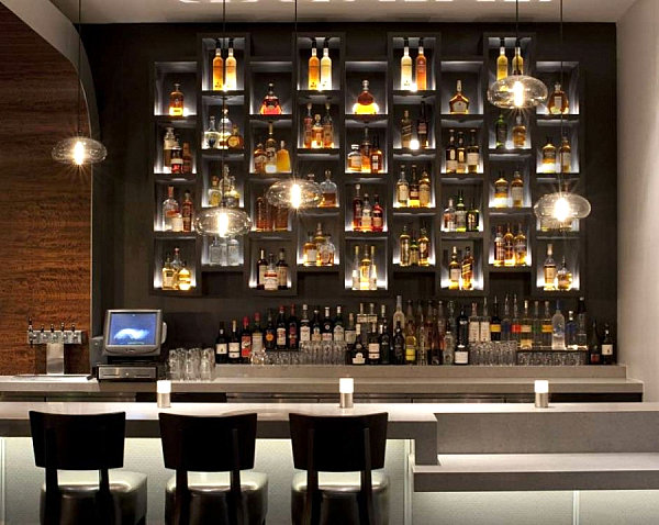 10 Inspiring Restaurant Bars With Modern Flair