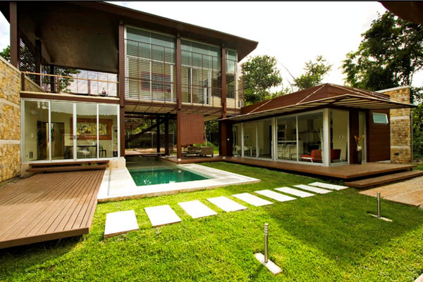 Sustainable Tropical Home In Costa Rica Sports Cool Design