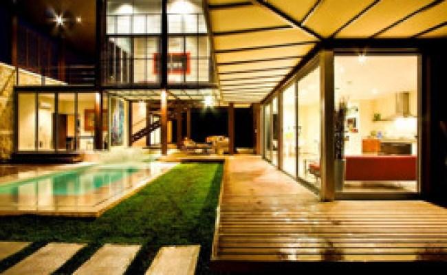Asian House Design In Beautiful Tropical Setting