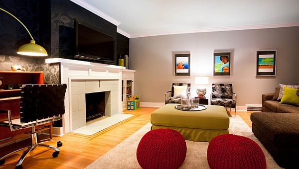 decorate living room with black couch interior designs for apartment how to your home color pairs