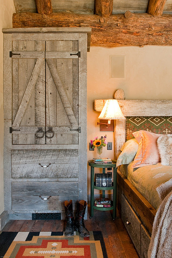 Like rugs and pillows, curtains bring personality to a small,. Inspiring Rustic Bedroom Ideas to Decorate with Style