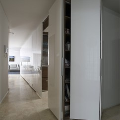Storage Cabinet For Kitchen Equipment Used Small Space Solutions: Hidden From Minosa Design