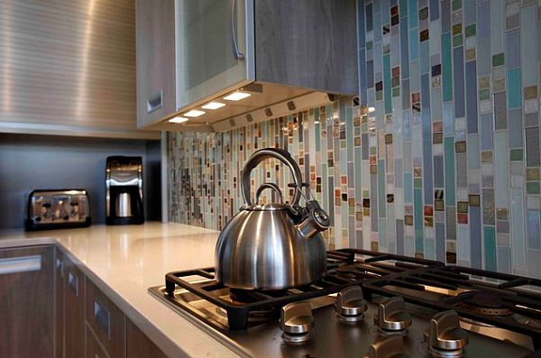 kitchen task lighting tall trash cans under cabinet adds style and function to your view in gallery modern cabinets with recessed