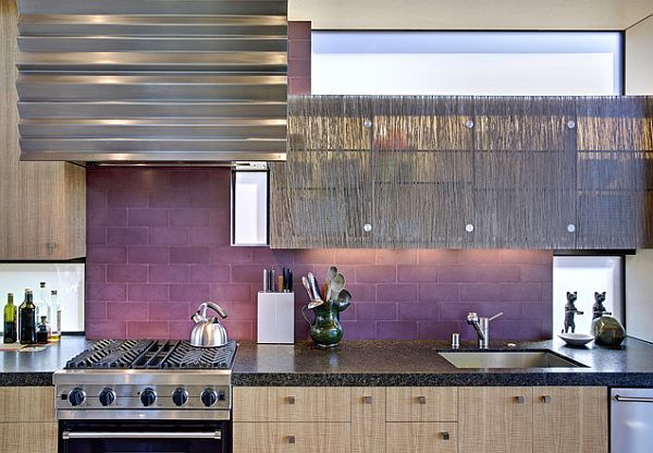 Kitchen Tiles Purple