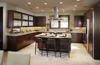 Light porcelain tile brightens a kitchen - Decoist