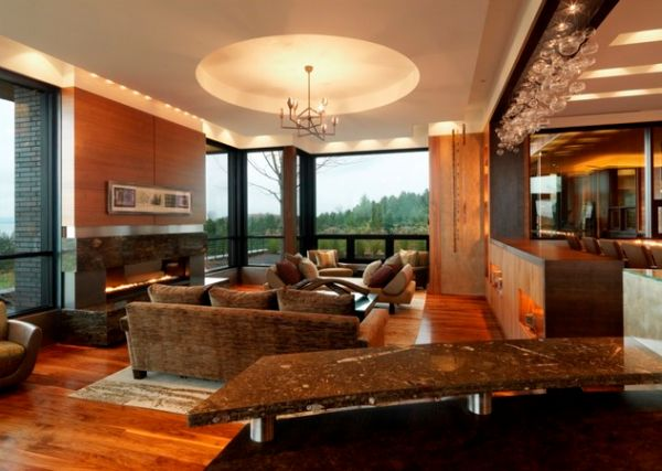 modern ceiling ideas for living room furniture philadelphia 33 stunning design to spice up your home view in gallery fireplace and snazzy give these interiors a refined appeal