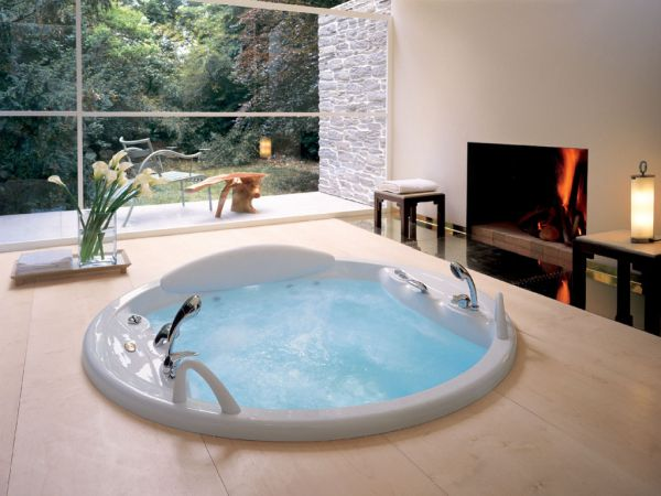 Inside Fireplace Decor 18 Stylish Bathroom Designs For The Posh
