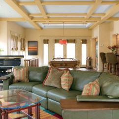 Unique Designs For Living Rooms Beautiful With Brown Sofas 33 Stunning Ceiling Design Ideas To Spice Up Your Home Paneled And Colorful Decor Help Create This Room Plan