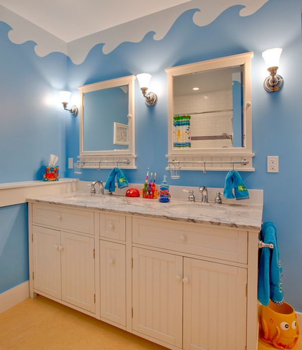Underwater Themed Kids Bathroom
