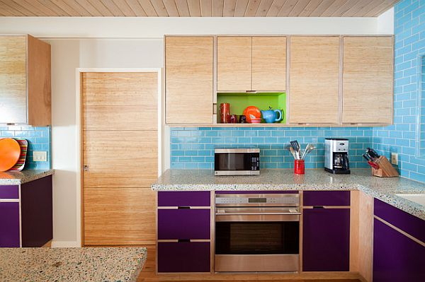 Creative Ways To Use Color In Your Dull Kitchen