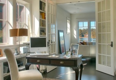 Home Office French Doors