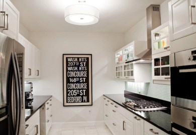 Small Galley Style Kitchens