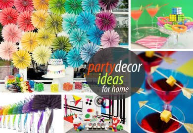 Home Party Decoration Ideas
