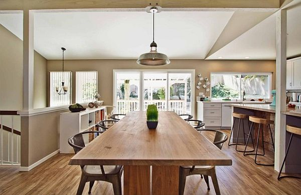 long kitchen tables best radio 17 with subtle charm view in gallery rustic modern decor
