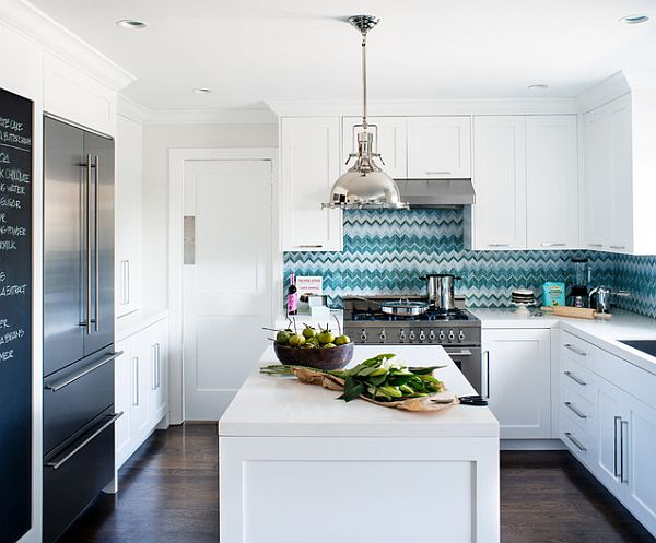 modern white kitchen cabinets Inspiring Kitchen Cabinetry Details to Add to your Home