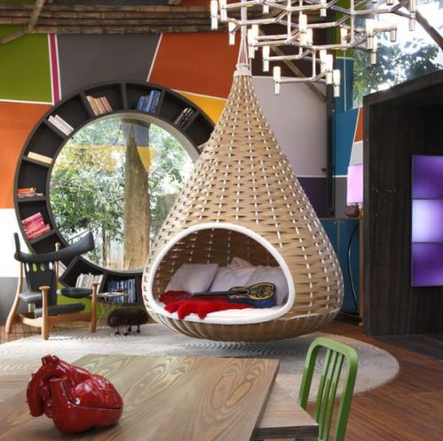 An exuberant way to liven up your living room