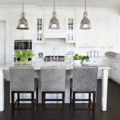 Kitchen Pendant Lights Wrought Iron Table 55 Beautiful Hanging For Your Island View In Gallery Benson Bring An Antique Touch To This Modern White