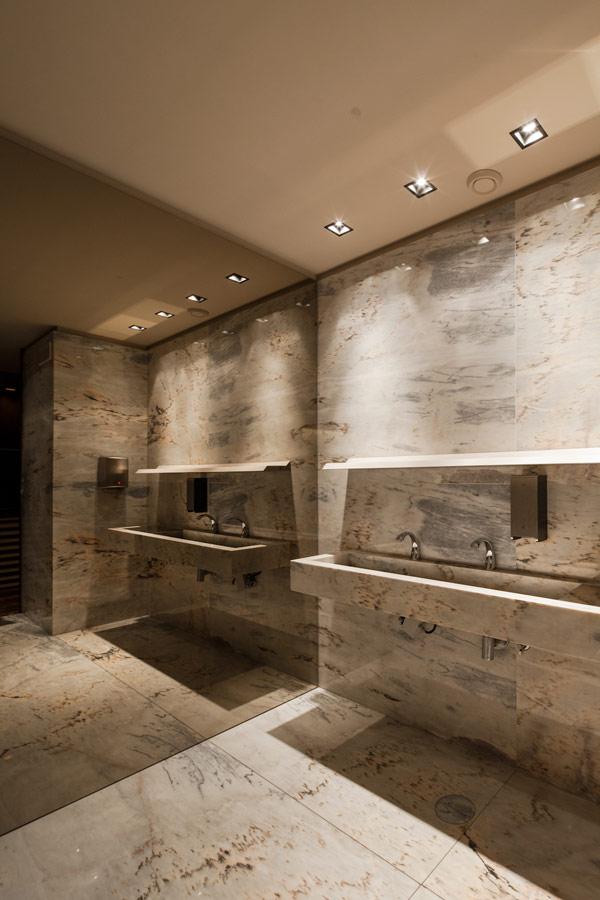 Bo Zen Bar  marble bathroom