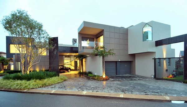 Dazzling Modern South African Home Charms With Elegant ...