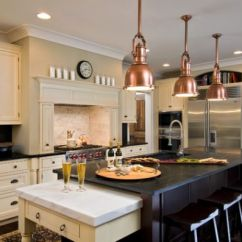 Kitchen Island Pendant Lights Cost Of A New 55 Beautiful Hanging For Your View In Gallery Copper Above The Touch Steampunk