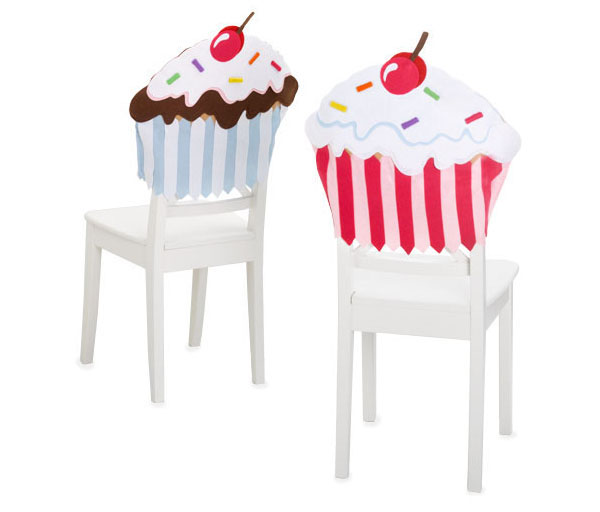 children s chair seat cheap covers for banquet chairs fool your senses and rest mind with colorful cupcakes
