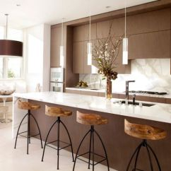 Kitchen Island Pendant Lights Diy Outdoor 55 Beautiful Hanging For Your View In Gallery Exquisite Modern White And Brown With Sleek Above The