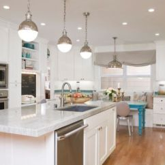 Kitchen Pendents How Much Does It Cost To Remodel A 55 Beautiful Hanging Pendant Lights For Your Island View In Gallery Large Hicks Pendants Above The