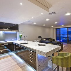 Modern Kitchen Light Lighting For Island 12 Kitchens With Neon View In Gallery Under Cabinets A Contemporary
