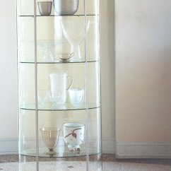 Living Room Glass Display Cabinets Good Paint Colors For A Chic View In Gallery Round Cabinet