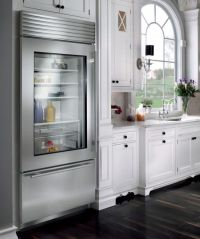 Glass Door Refrigerators: Designs Ideas, Inspiration and ...