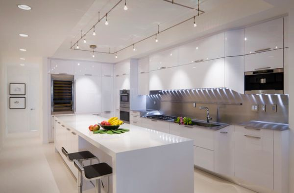 modern living room track lighting clean fast gorgeous ideas for the contemporary home view in gallery cool installation above kitchen island is a perfect choice