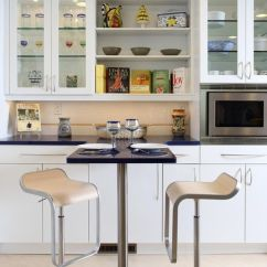 Designing Kitchen Cabinets High Table 28 Cabinet Ideas With Glass Doors For A Sparkling Modern Home View In Gallery Elegant Cool Contemporary