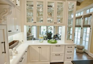 Kitchen Glass Cabinets Ideas
