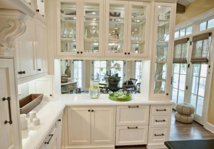 Kitchen Glass Cabinets Ideas