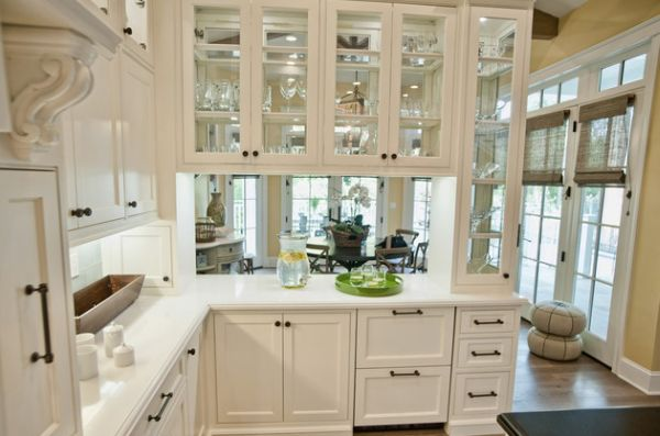 kitchen cabinet doors with glass fronts how to replace cabinets 28 ideas for a sparkling modern home view in gallery front set wooden frame