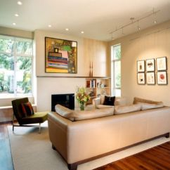 Modern Living Room Track Lighting Traditional Designs Pictures Gorgeous Ideas For The Contemporary Home View In Gallery Highlight Your Most Prized Possessions Using Innovative Lights