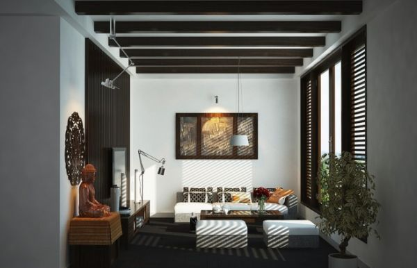Modern Interiors With an Oriental Charm by Vic Nguyen