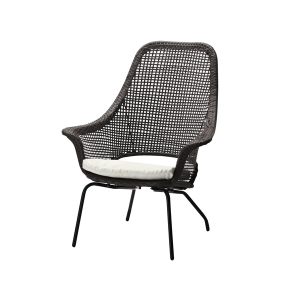 woven plastic garden chairs johnson massage chair 12 stylish outdoor furniture finds view in gallery modern rattan