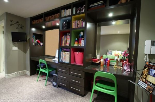 29 Kids Desk Design Ideas For A Contemporary And Colorful