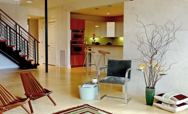View In Gallery Adding Long Branches Makes Your Floor Vase Visually Taller