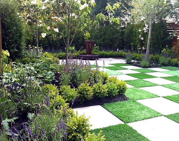 art of landscaping small