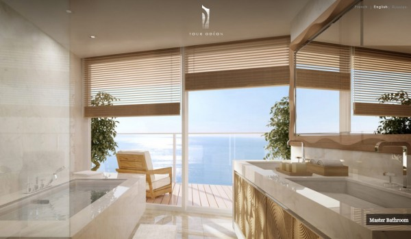 World Class Penthouse in Monaco Steals The Show With Its